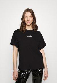 Even&Odd - Print T-shirt - black - 0