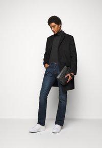Emporio Armani - Straight leg jeans - blue denim - 1