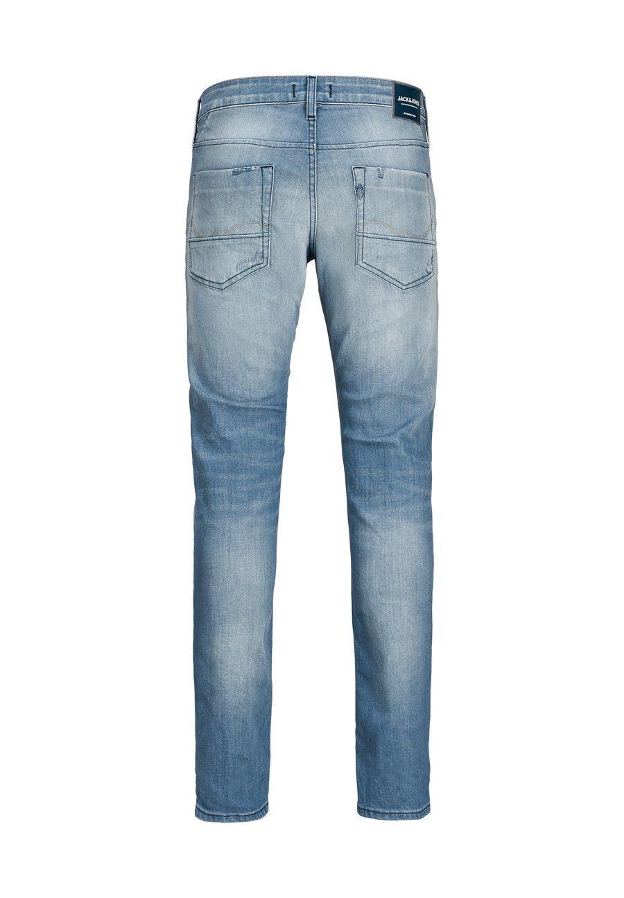 Jack & Jones SLIM FIT JEANS GLENN ROCK BL 919 - Jean slim - blue denim