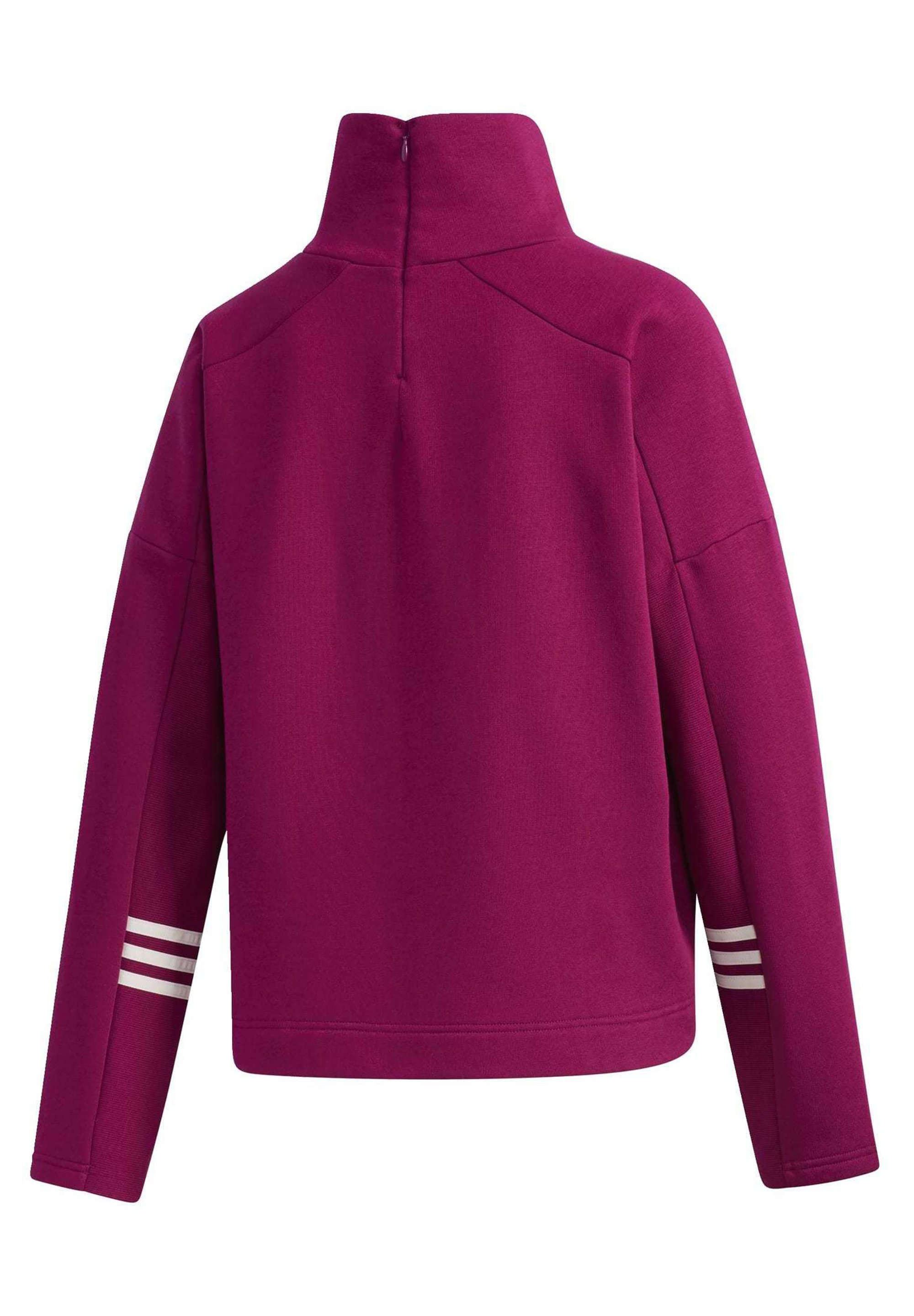 adidas Performance ESSENTIALS COMFORT FUNNEL NECK SWEATSHIRT - Sweatshirt - purple qfMR0