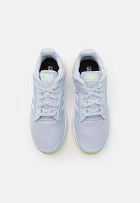 adidas Performance - GALAXY 5 - Zapatillas de running neutras - halo blue/footwear white/solar yellow - 3