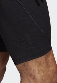 adidas Performance - ALPHASKIN TECH SHORT 3-STRIPES TIGHTS - Sports shorts - black - 6