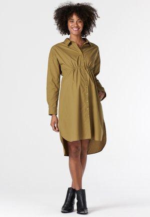 Jersey dress - khaki green