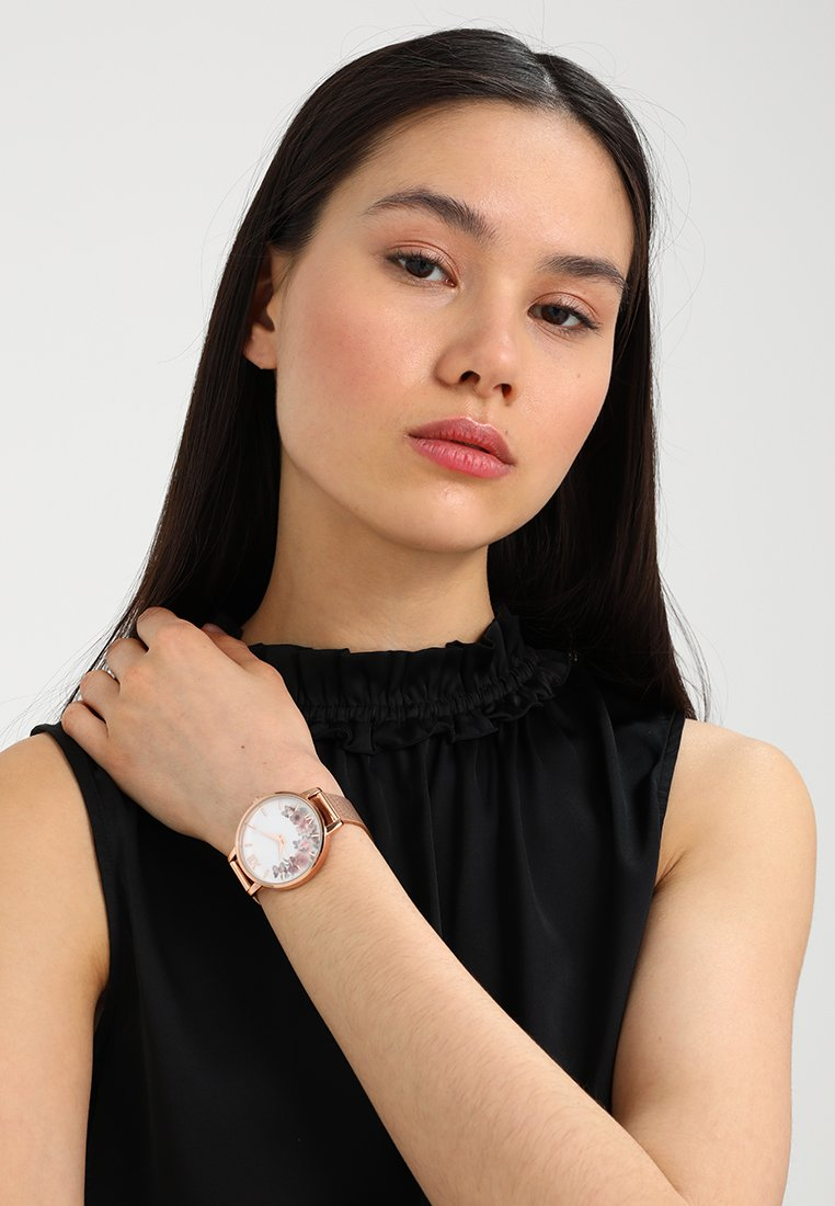Anna Field - Horloge - rosegold-coloured