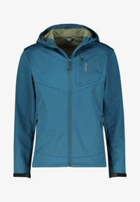 Meru - Soft shell jacket - petrol - 0