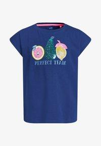 WE Fashion - T-shirt print - blue - 3