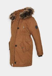 OLMIRIS WINTER  - Winter coat - toasted coconut