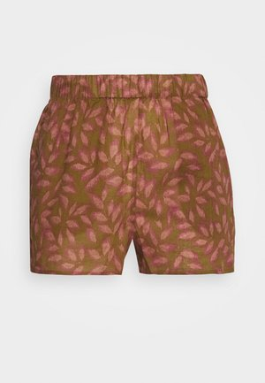 ABBIE - Pyjama bottoms - brown/pink