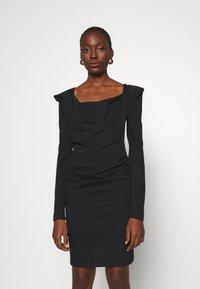 Vivienne Westwood - ELIZABETH DRESS - Jersey dress - black - 0