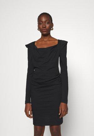 ELIZABETH DRESS - Jersey dress - black