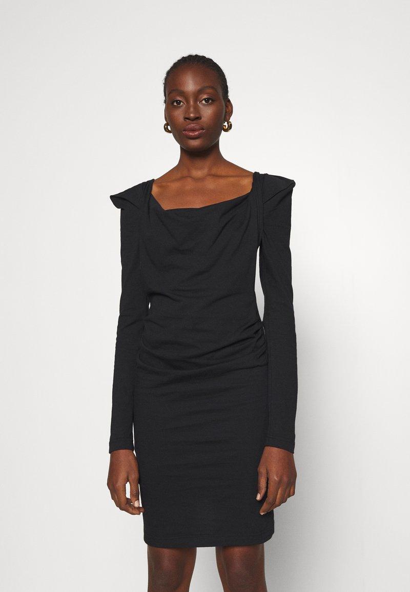 Vivienne Westwood - ELIZABETH DRESS - Jersey dress - black