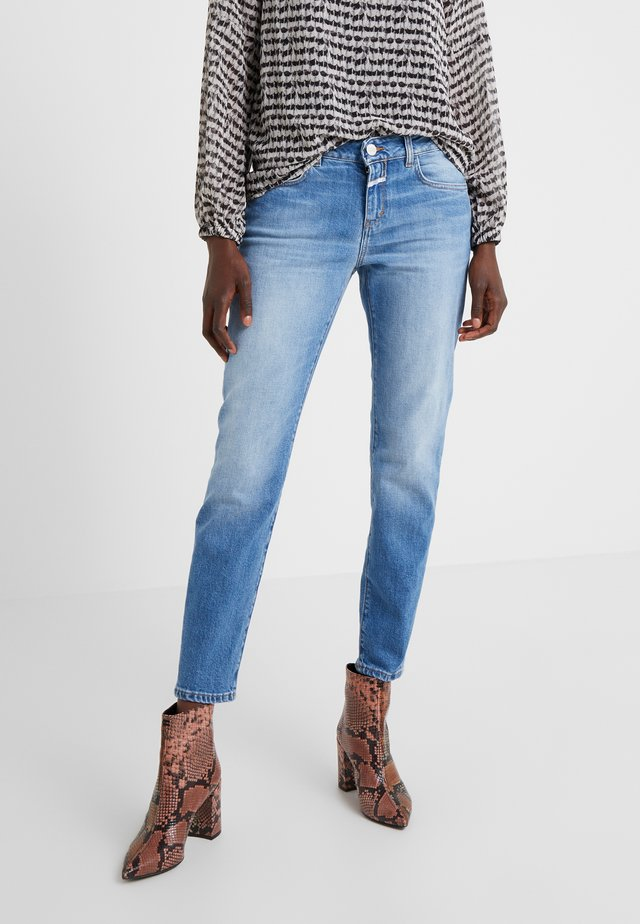 BAKER - Jeansy Slim Fit - mid blue