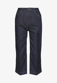 Široké džíny - blue rinse