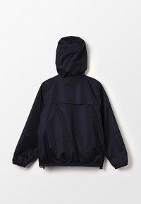 K-Way - LE VRAI CLAUDE - Waterproof jacket - black - 1