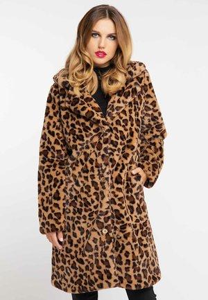 MANTEL - Zimní kabát - leopard