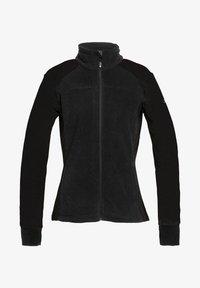 Roxy - MIT REISSVERSCHLUSS  - Fleece jacket - true black - 4
