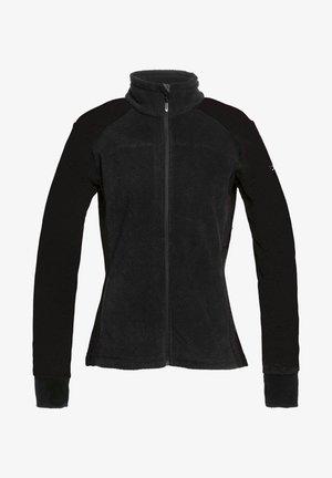 MIT REISSVERSCHLUSS  - Fleece jacket - true black