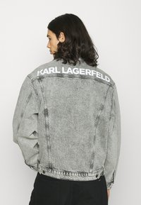 KARL LAGERFELD - JACKET UNISEX - Denim jacket - light grey - 0