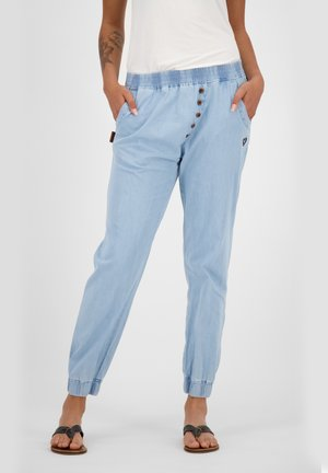 ALEXISAK - Trousers - light denim