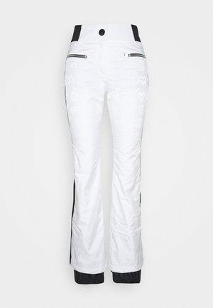 RAINBOW SKI - Spodnie narciarskie - white