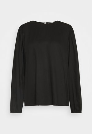 VIKA BLOUSE - Bluser - black deep