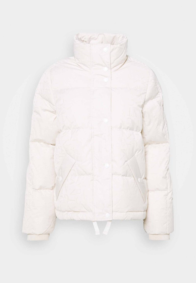 GANT - WORD JACKET - Down jacket - eggshell
