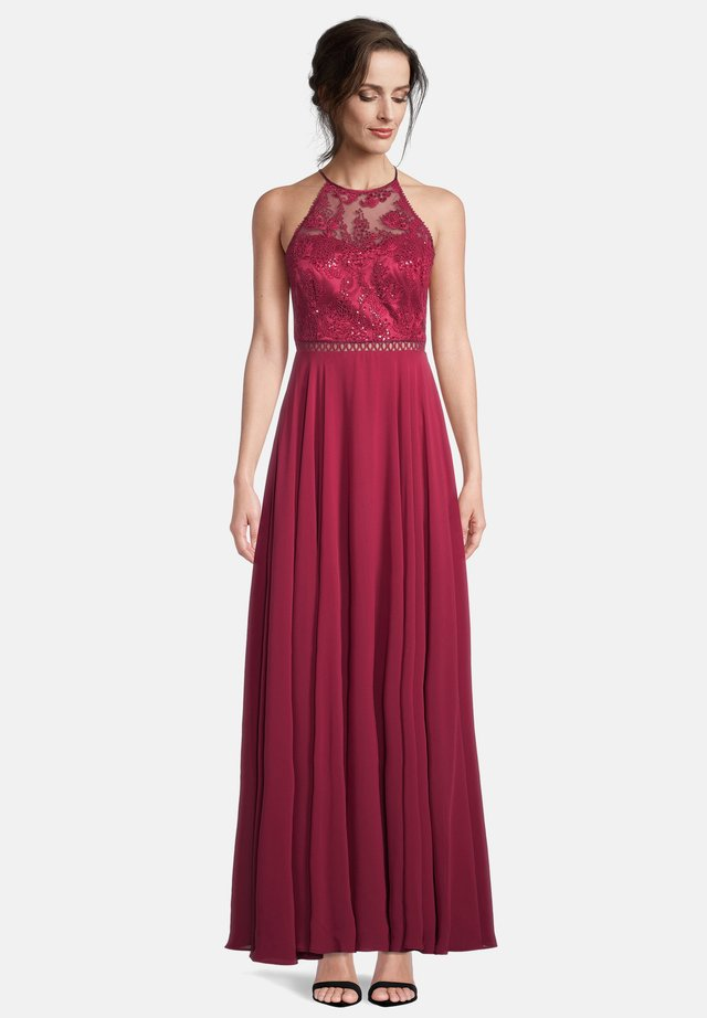 Cocktail dress / Party dress - ruby red