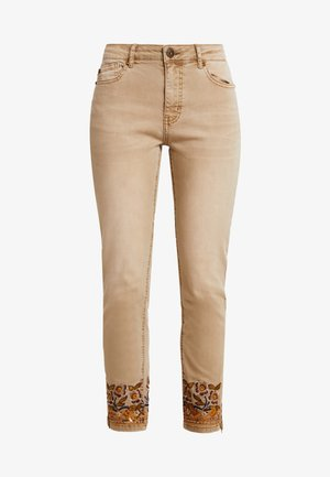 PANT MIAMI COLORS - Jeansy Slim Fit - crudo beige