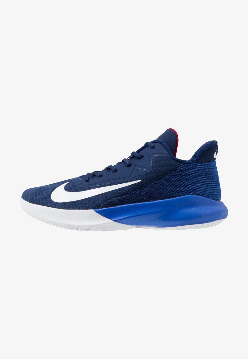 Nike Performance - PRECISION 4 - Zapatillas de baloncesto - blue void/white/racer blue/red crush
