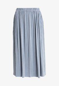 Samsøe Samsøe - UMA SKIRT - Pleated skirt - dusty blue - 4