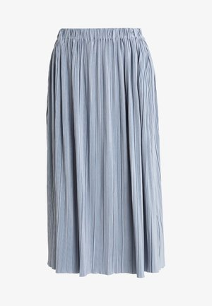 UMA SKIRT - Pleated skirt - dusty blue