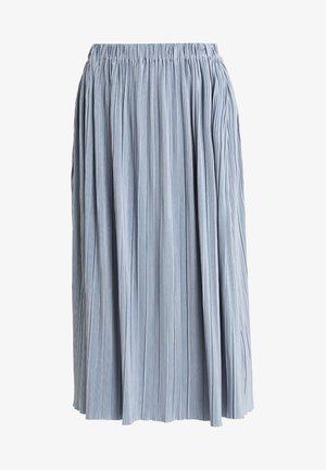 UMA SKIRT - Plisséskjørt - dusty blue