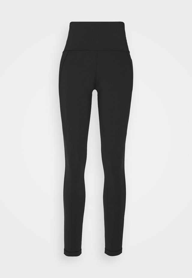 LUX HIGHRISE - Tights - black