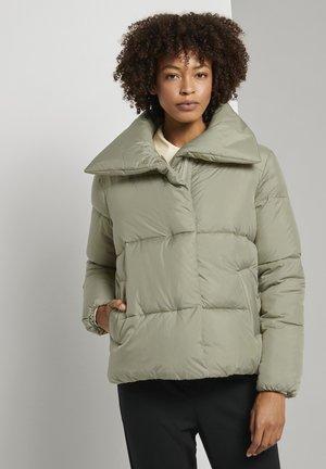 Winter jacket - herbal tea green