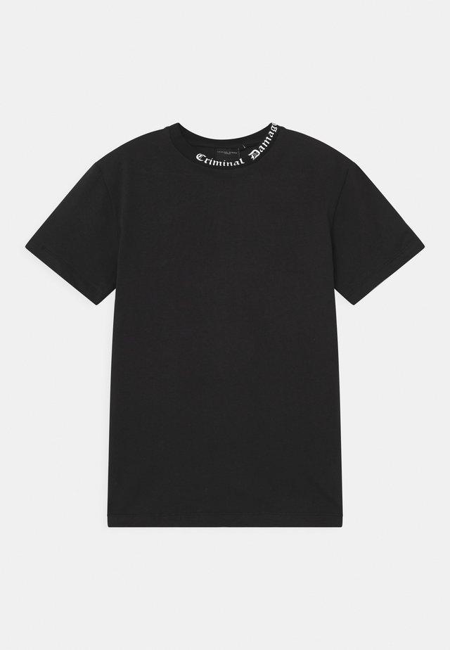 GOTH  - T-shirt med print - black