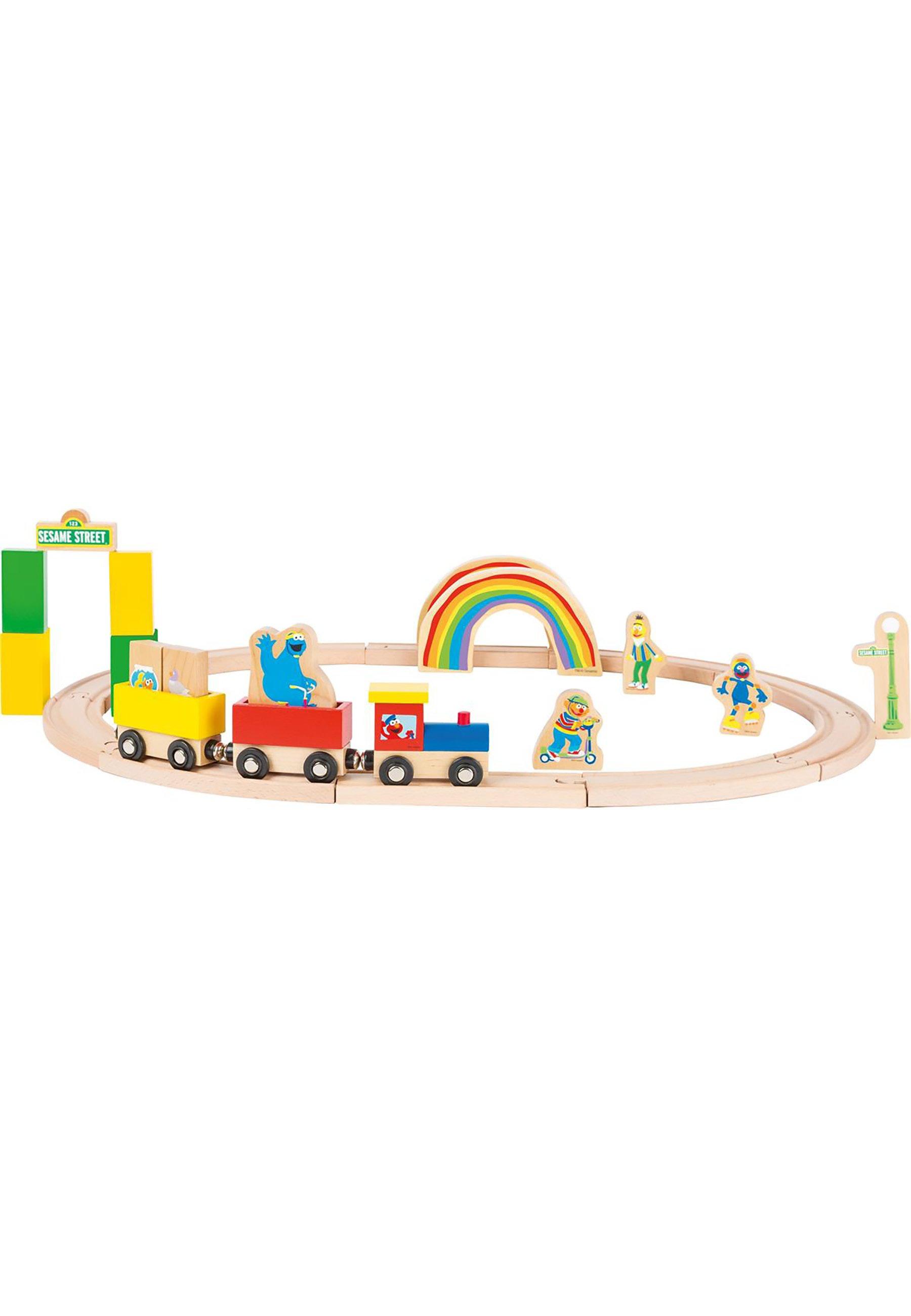 Kinder SESAMSTRASSE  - Spielzeugset Züge