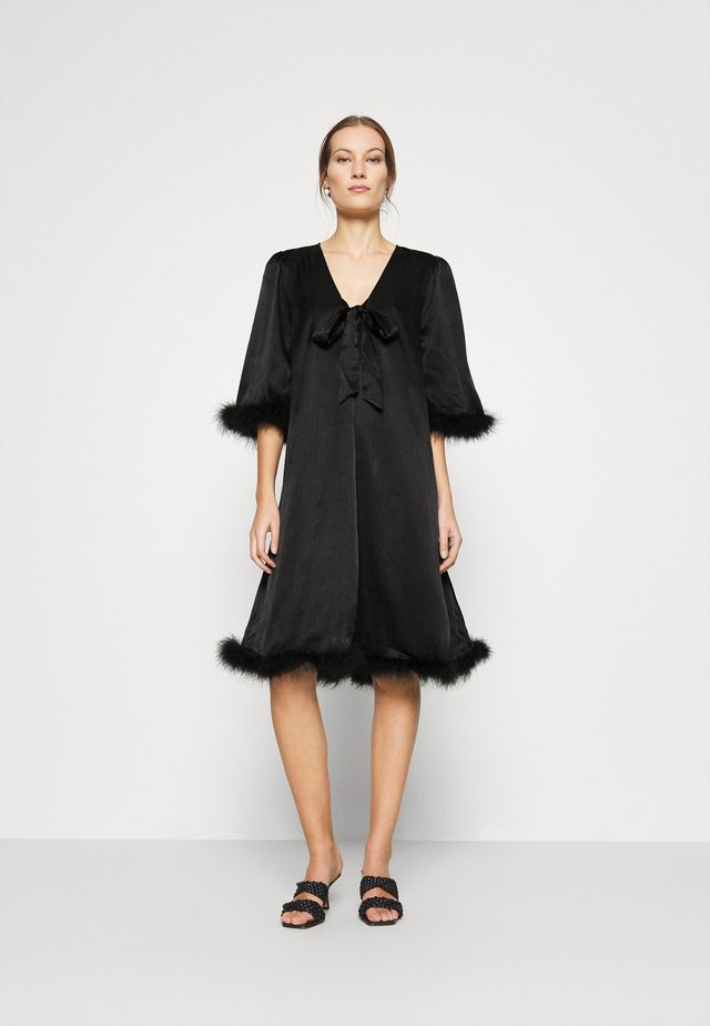 BELLIS DRESS - Cocktailjurk - black