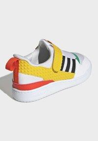 adidas Originals - FORUM 360 X LEGO SCHUH - Baskets basses - white - 3