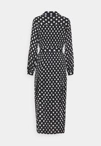 Selected Femme - SLFLADY POPPY MIDI DRESS - Robe d'été - black/white - 1