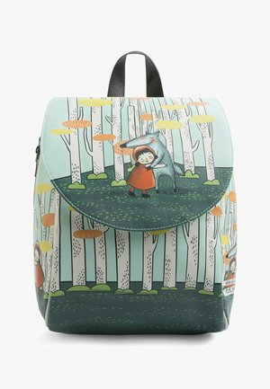 LITTLE RED RIDING HOOD - Rucksack - multicolor