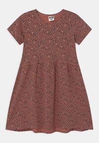 Cotton On - FREYA SHORT SLEEVE  - Robe en jersey - chutney/gold - 0