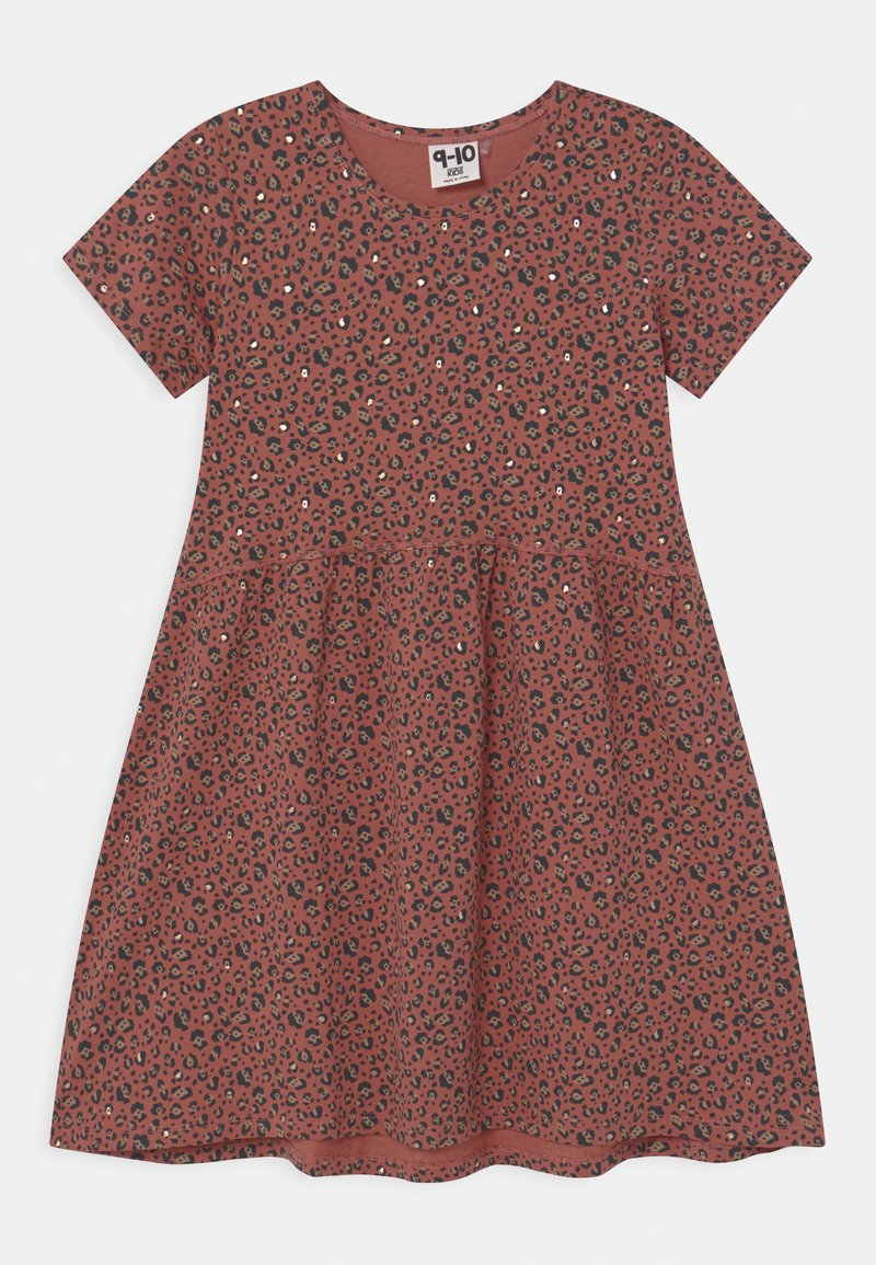 Cotton On - FREYA SHORT SLEEVE  - Robe en jersey - chutney/gold