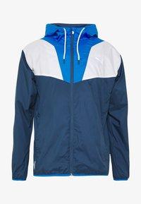 REACTIVE JACKET - Training jacket - dark denim/palace blue/white