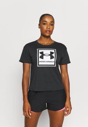 LIVE GLOW GRAPHIC TEE - Camiseta estampada - black