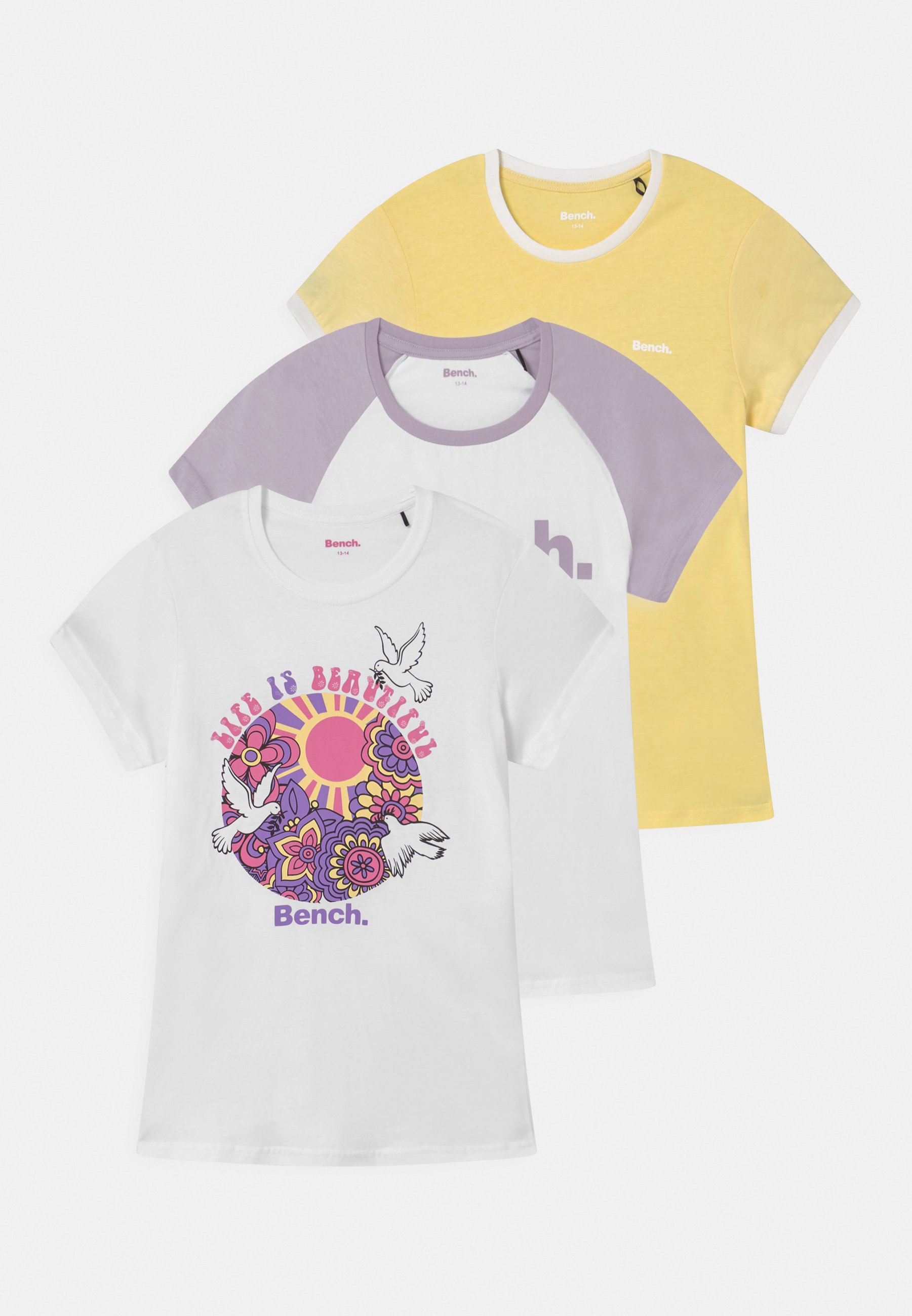 Kids EMBERNA 3 PACK - Print T-shirt