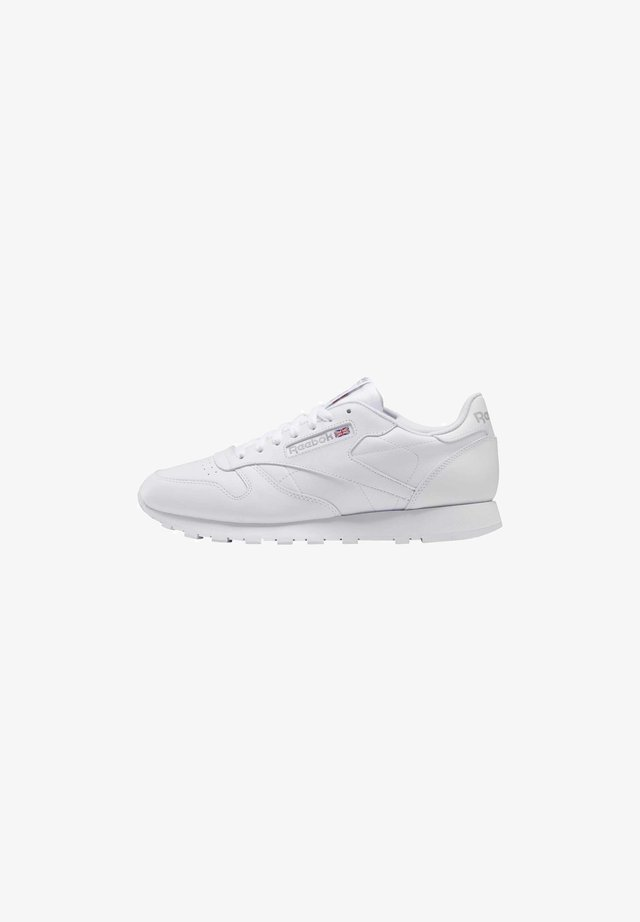 CLASSIC LEATHER RUNNING STYLE - Sneakersy niskie - white