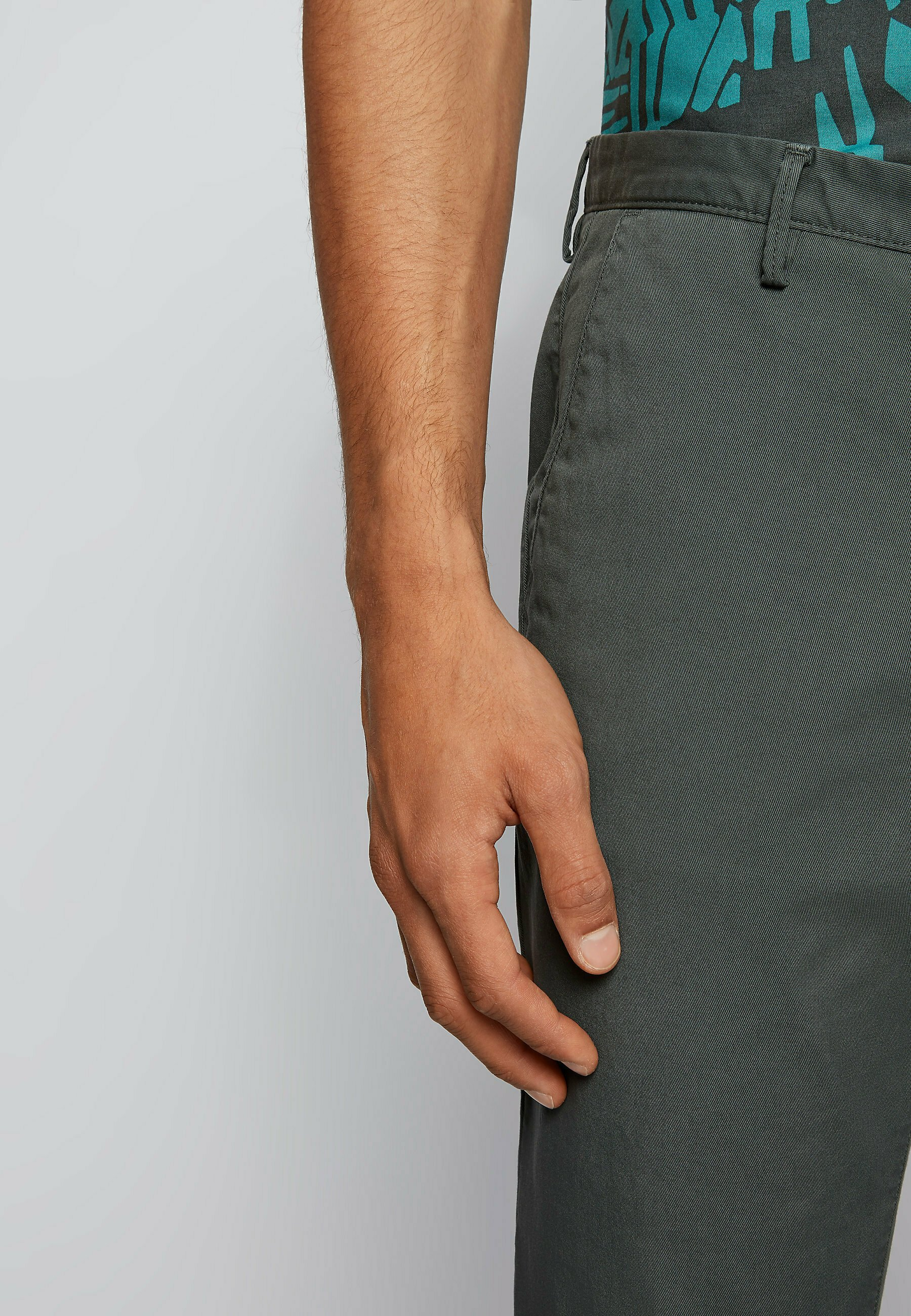 Homme RICE3-D SLIM FIT - Chino