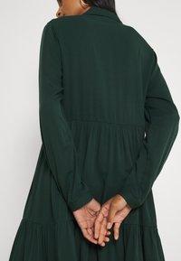 Vila - VIMOROSE SHIRT DRESS - Day dress - darkest spruce - 3