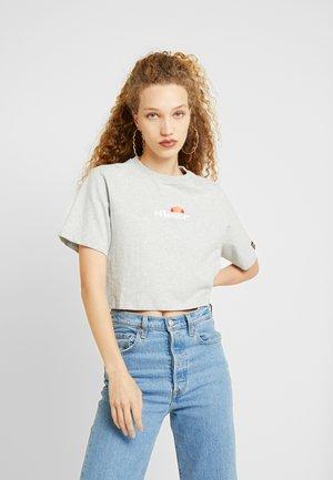 FIREBALL WOMENS - Print T-shirt - grey