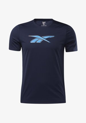 WORKOUT READY GRAPHIC T-SHIRT - T-shirt imprimé - blue